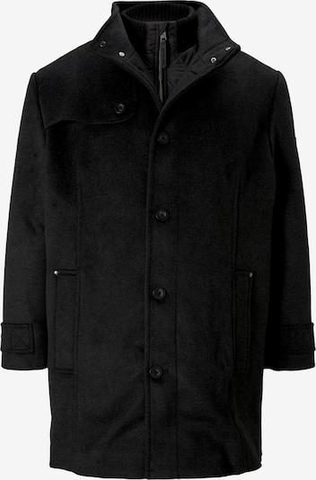 TOM TAILOR Men Plus Mantel in schwarz: Frontalansicht