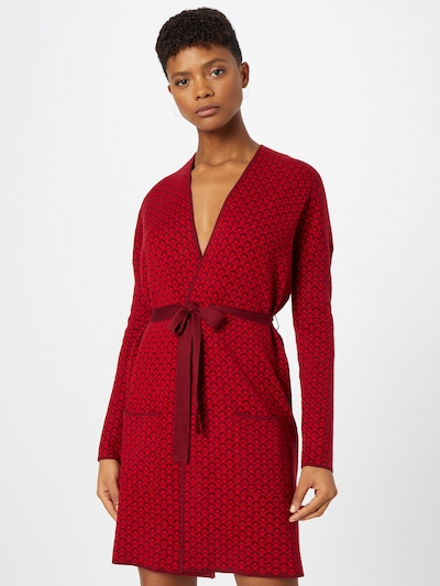 Blutsgeschwister Knit Cardigan 'Rendez-Vous' in Red / Dark red, View model