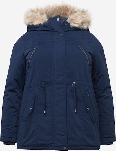 Vero Moda Curve Winterparka 'AGNES BEATE' in dunkelblau, Produktansicht