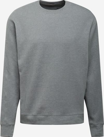 NIKE Bluzka sportowa w kolorze nakrapiany szary / czarnym, Podgląd produktu