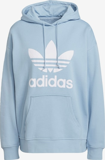 ADIDAS ORIGINALS Μπλούζα φούτερ σε μπλε φιμέ / λευκό, Άποψη προϊόντος