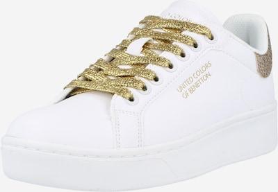 Benetton Footwear Sneaker 'TRIPLE GLIT' in weiß, Produktansicht