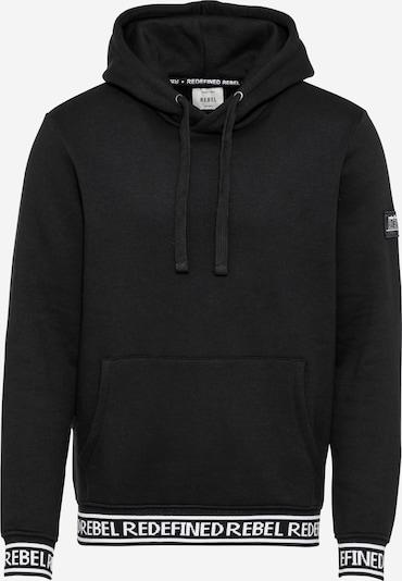 Redefined Rebel Sweat-shirt 'Promise ' en noir / blanc, Vue avec produit