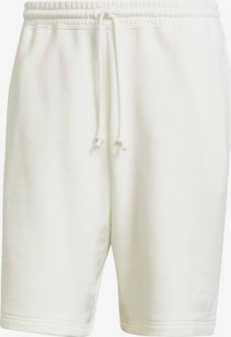Pantalon ADIDAS ORIGINALS en blanc