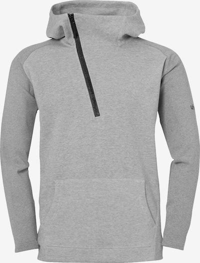UHLSPORT Sweatshirt in grau: Frontalansicht