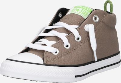 CONVERSE Sneaker 'CTAS STREET' in taupe / apfel / weiß, Produktansicht