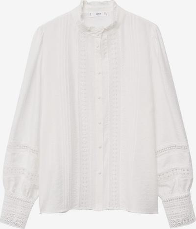 MANGO Bluse in weiß, Produktansicht