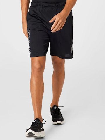 NIKE Sporthose in Schwarz