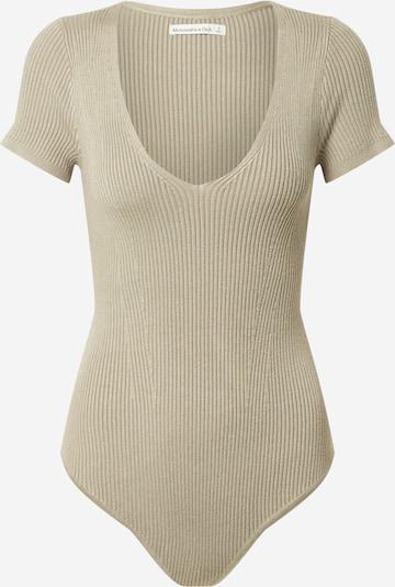 Abercrombie & Fitch Shirt body in de kleur Beige gemêleerd, Productweergave