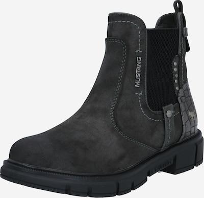 MUSTANG Chelsea Boots 'Booty' en gris foncé, Vue avec produit