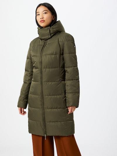HUGO Zimní kabát 'Fleuris-1' - olivová, Model/ka