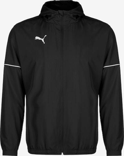 PUMA Jacke 'Team Goal' in schwarz / weiß, Produktansicht