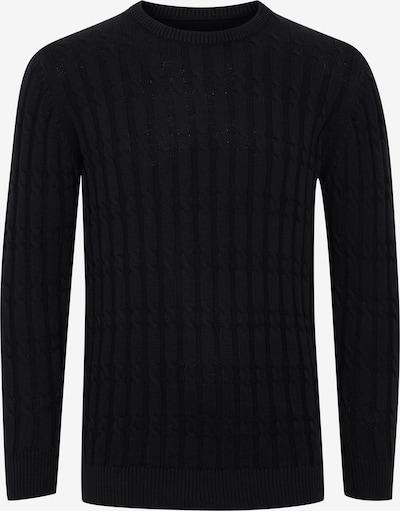 INDICODE JEANS Strickpullover 'PAULETTA' in schwarz, Produktansicht