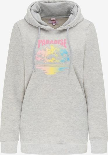 MYMO Sweatshirt in de kleur Lichtblauw / Geel / Lichtgrijs / Pink, Productweergave