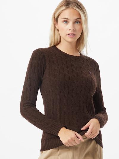 POLO RALPH LAUREN Pullover in schoko, Modelansicht