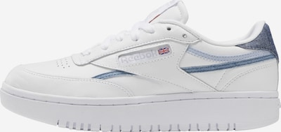 Reebok Classic Sneaker 'Club C Double' in blau / weiß, Produktansicht