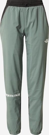 THE NORTH FACE Sporthose en smaragd / schwarz / weiß, Vue avec produit