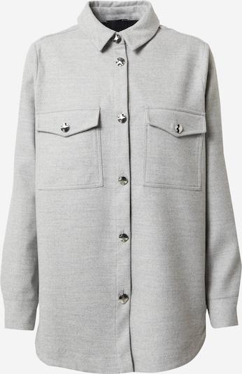 River Island Jacke 'Flannel Overshirt' in grau / hellgrau, Produktansicht