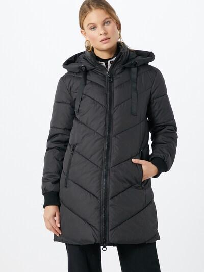 JACQUELINE de YONG Kurtka zimowa 'Skylar' w kolorze czarnym, Podgląd na modelu(-ce)