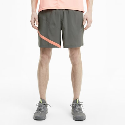 PUMA Shorts 'Ignite' in stone / apricot: Frontalansicht