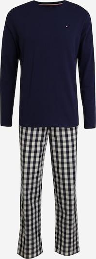 Tommy Hilfiger Underwear Pyjama in navy / zitrone / weiß, Produktansicht