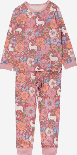 Cotton On Pijama 'FLORENCE' en verde hierba / naranja / altrosa / arándano / blanco, Vista del producto