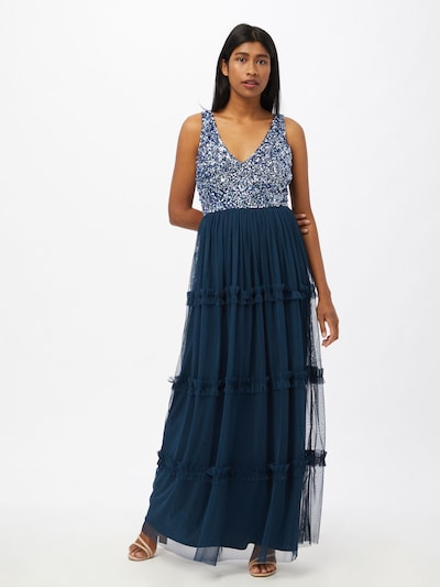 LACE & BEADS Společenské šaty 'Maryam' - námořnická modř, Model/ka