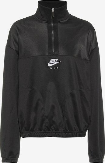 Megztinis be užsegimo iš Nike Sportswear , spalva - šviesiai pilka / juoda / balta, Prekių apžvalga