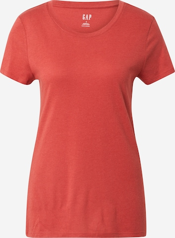 GAP Shirt 'V-SS FAV CREW SLD' in Orange
