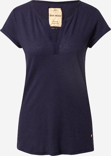 MOS MOSH T-shirt 'Troy' en bleu marine, Vue avec produit