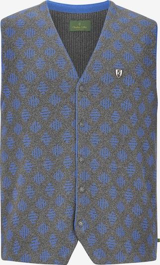 Charles Colby Bodywarmer 'Duke Franklin' in de kleur Blauw / Basaltgrijs, Productweergave