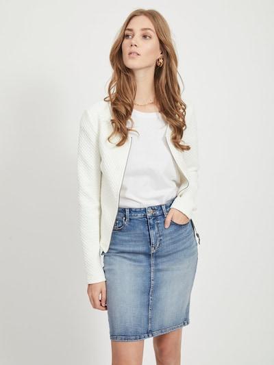 VILA Kurze Jacke 'Vinaja' in weiß, Modelansicht