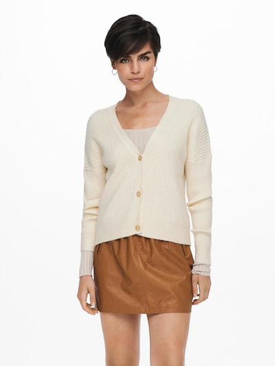 ONLY Knit Cardigan 'KATIA' in Beige, View model