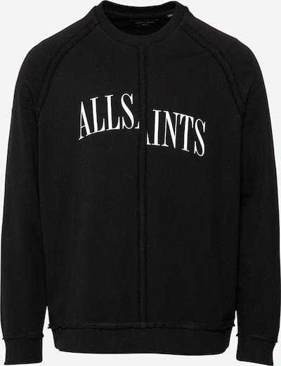 AllSaints Mikina - černá / bílá, Produkt