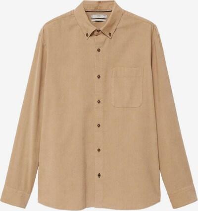MANGO MAN Hemd in beige, Produktansicht