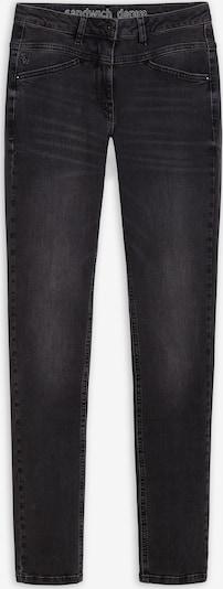 Sandwich Jeans in graumeliert, Produktansicht