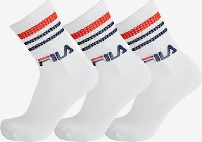 FILA Socken in weiß, Produktansicht