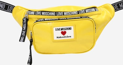 Love Moschino Torbica za okrog pasu | rumena / črna barva, Prikaz izdelka