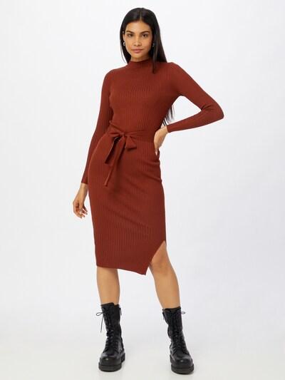 NEW LOOK Pletené šaty - hrdzavohnedá, Model/-ka