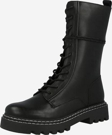 PS Poelman Boot i svart