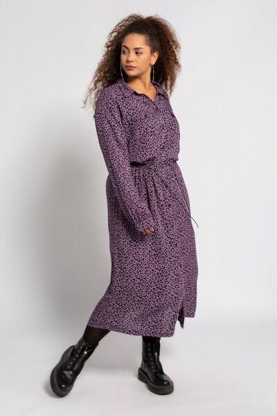 Studio Untold Kleid in lila / schwarz, Modelansicht
