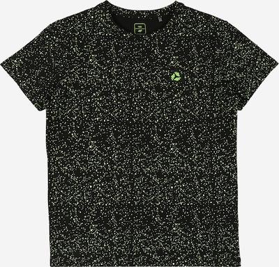 4F Camiseta funcional en verde neón / negro, Vista del producto
