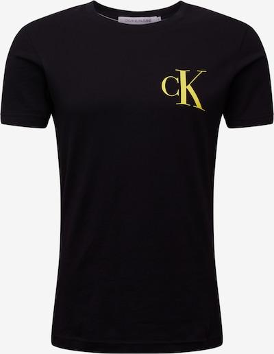 sárga / fekete Calvin Klein Jeans Póló, Termék nézet