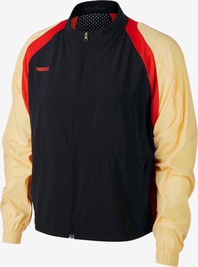 Nike Sportswear Jacke in gelb / rot / schwarz, Produktansicht