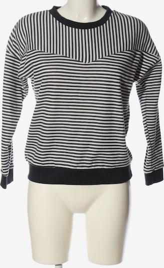Sublevel Sweatshirt in XS in schwarz / weiß, Produktansicht