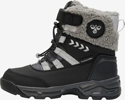 Hummel Snowboots in silbergrau / schwarz, Produktansicht