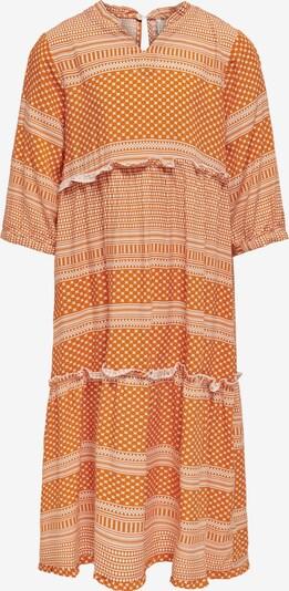 KIDS ONLY Robe en orange / blanc, Vue avec produit
