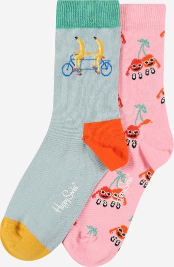 Happy Socks Socken in opal / gelb / jade / orange / hellpink, Produktansicht