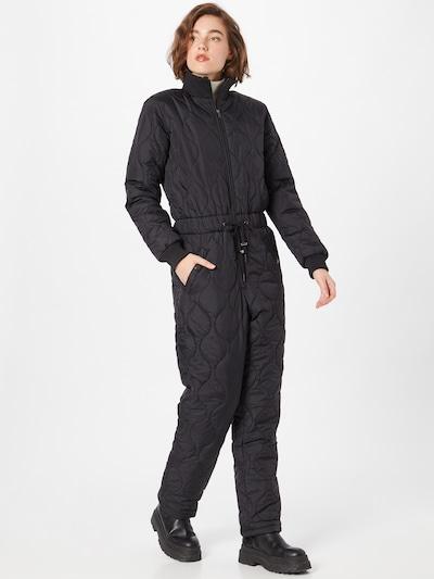 Moves Jumpsuit in schwarz, Modelansicht