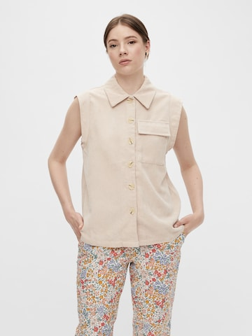 PIECES Blouse in Beige